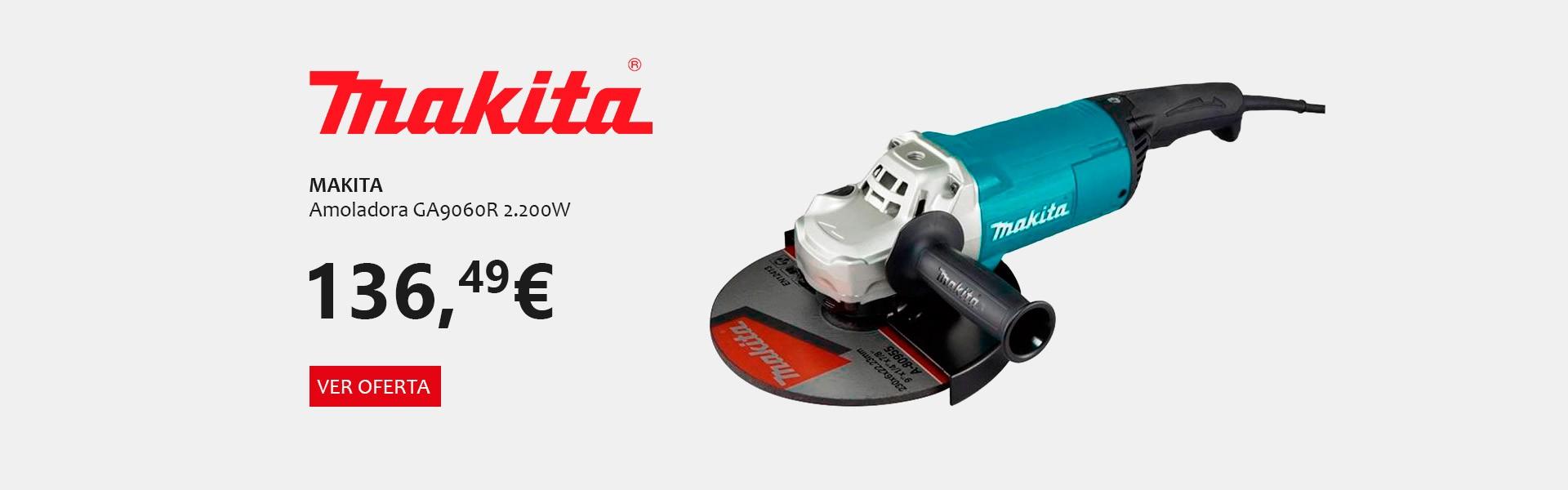 Oferta Makita Amoladora GA9060R