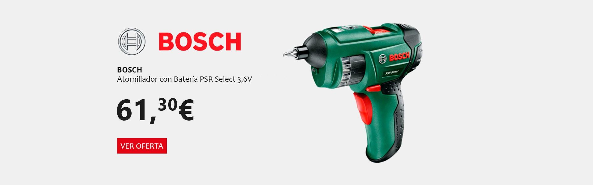 Bosch Oferta especial Atornillador PSR Select